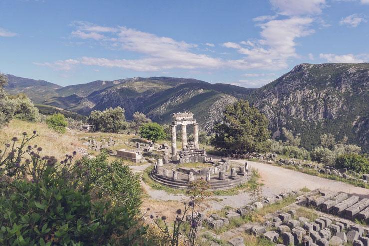 bigousteppes grèce delphes temple