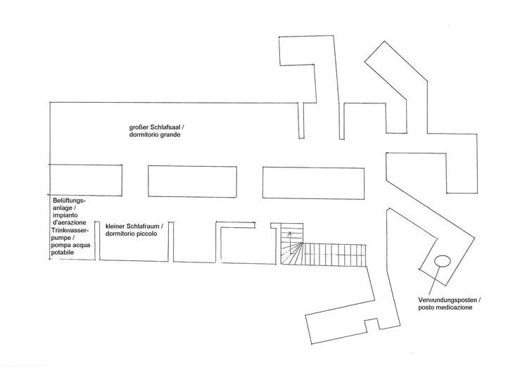 Skizze Untergeschoss