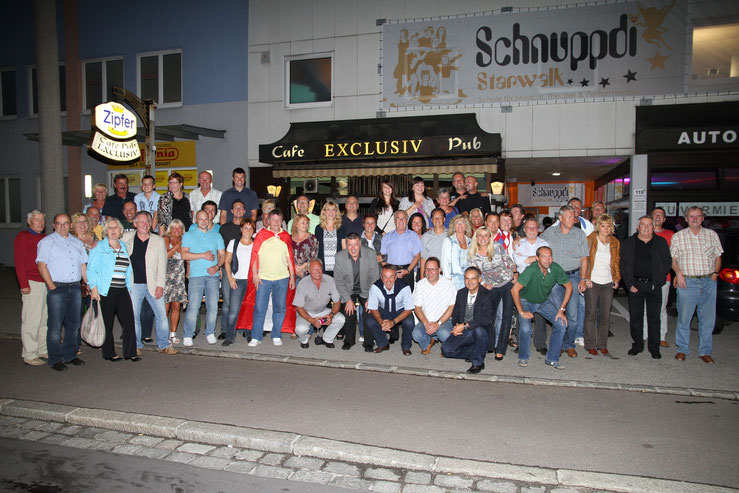 Abschiedsfeier bei Gregor im Cafe Pub Exclusiv