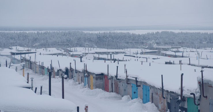 Filmbild aus Garagenvolk ©Natalija Yefimkina