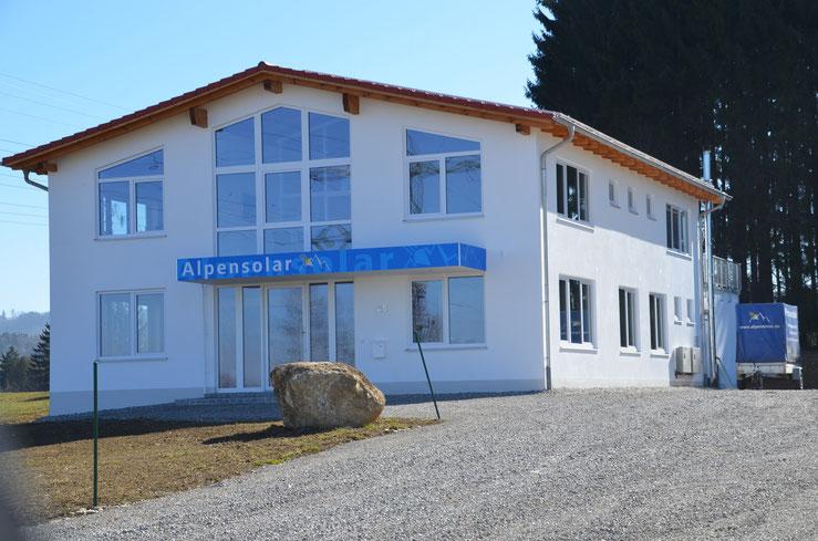 BV: Sulzberg Verwaltungsgebäude Fa. Alpensolar erweiteter Rohbau mit Eigenleistung
