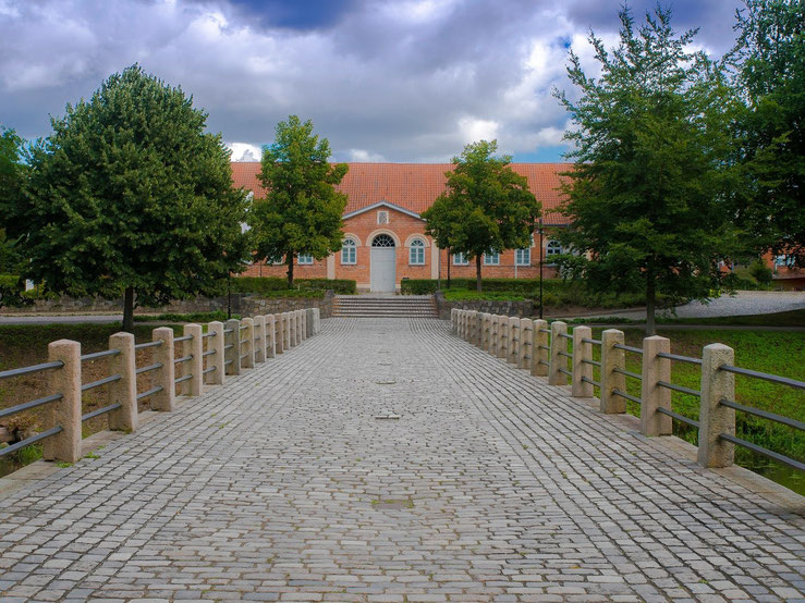 Die Orangerie des Ahrensburger Schlosses.