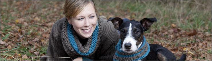 Schal & Loop für Hund und Halter