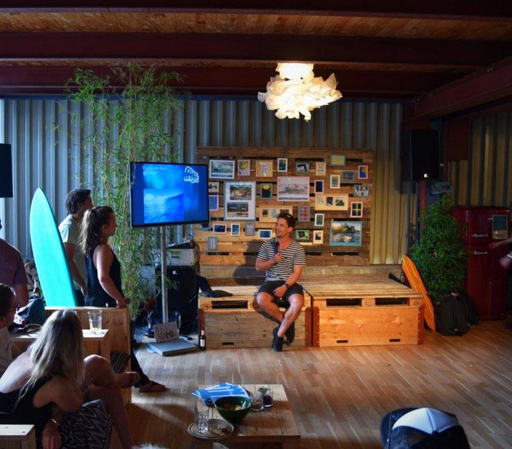 WaveUp Projekt Vorstellung, 03.08.2017 in der Soerf Bar in ZH