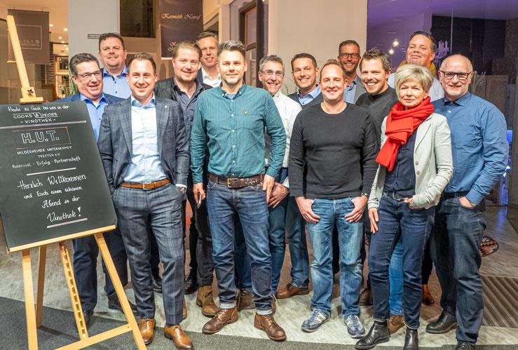 Die Mitglieder des H.U.T. Hildesheimer Unternehmer Treffen e.V. im November 2014.