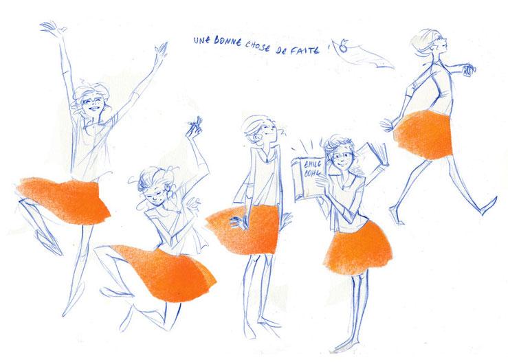 Le diplôme-Clémence Meynet illustration