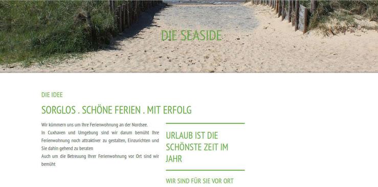Betreuung Ferienwohnung Sommerlad in Duhnen Cuxhaven