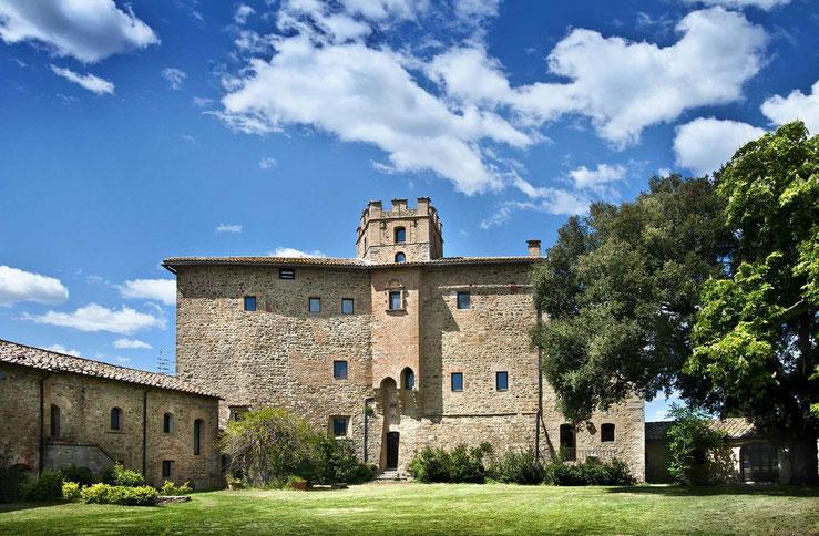 Castel Porrona Relais von außen