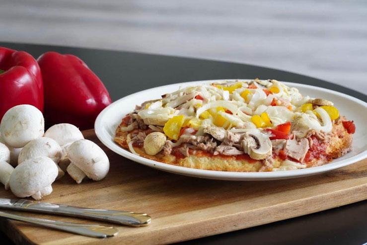 Dinkel-Quark Pizzateig | clean und schnell zubereitet