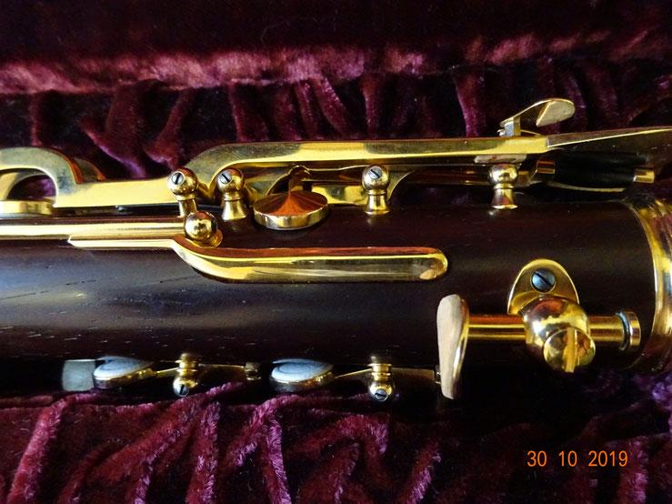 Klarinette Volloehler Profiinstrumente Cocobolo Gold