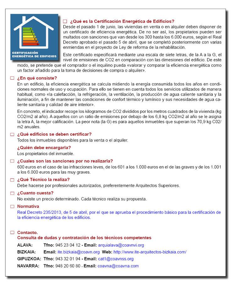 Certificado de eficiencia energética en Bilbao y Bizkaia_Estudio Arkobi