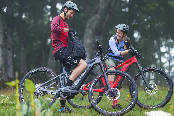 BMC e-Bike Modelle - e-Mountainbikes 2018