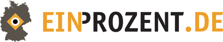 EinProzent Logo ein Prozent