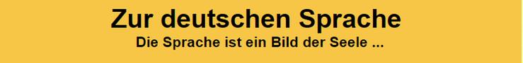 Zur deutschen Sprache Logo