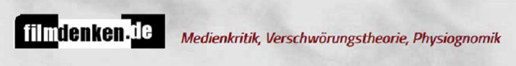 Filmdenken Medienkritik Verschwörungstheorie Physiognomik Logo