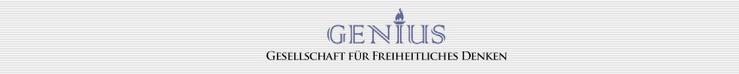 Genius Gesellschaft für freiheitliches Denken Logo