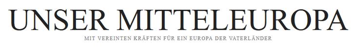 Unser Mitteleuropa Europa der Vaterländer Logo