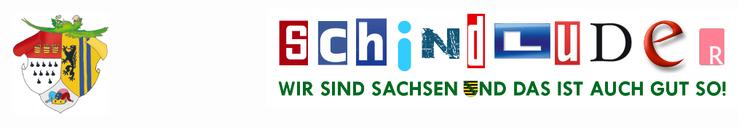 Schindluder Sachsen Satire Logo