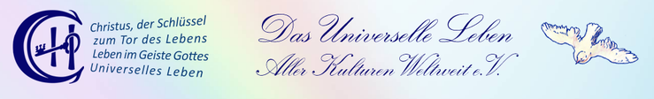 Universelles Leben aller Kulturen weltweit Deutschland Logo