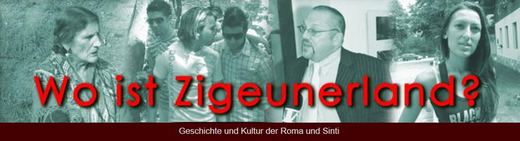 Zigeunerland Sinti und Roma Logo