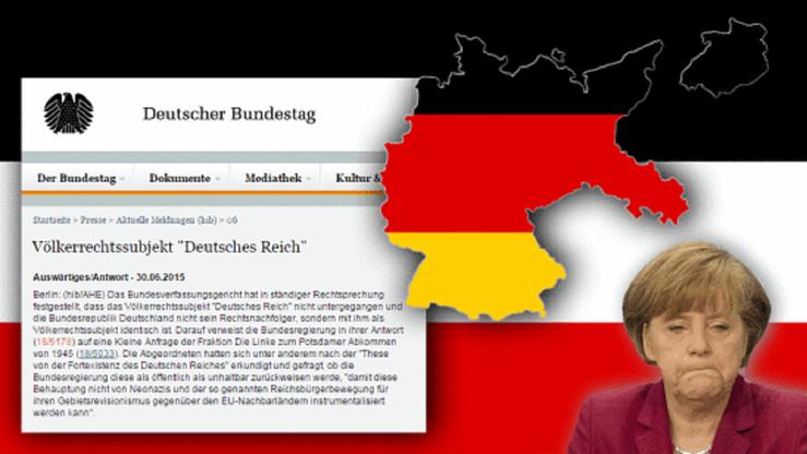 Völkerrechtssubjekt Deutsches Reich Angela Merkel Bild