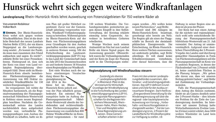 Rhein-Lahn-Zeitung v. 25.06.2015