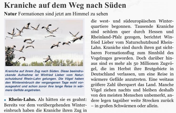 Rhein-Lahn-Zeitung v. 19.10.2015