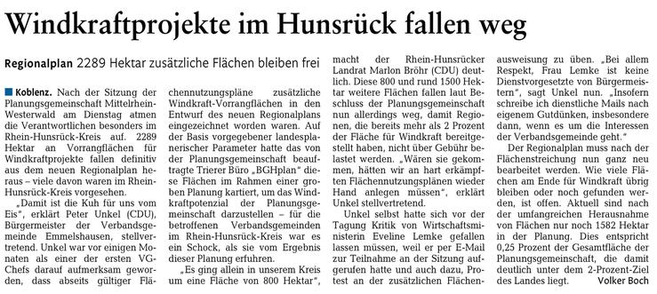 Rhein-Lahn-Zeitung v. 23.07.2015