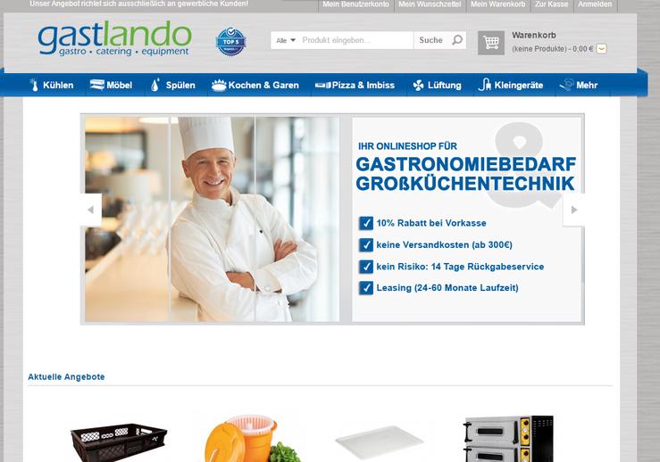 Homepage gastlando