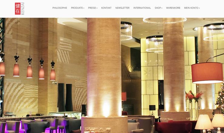 Homepage Kenzai