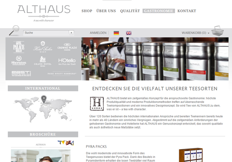 Homepage Althaus