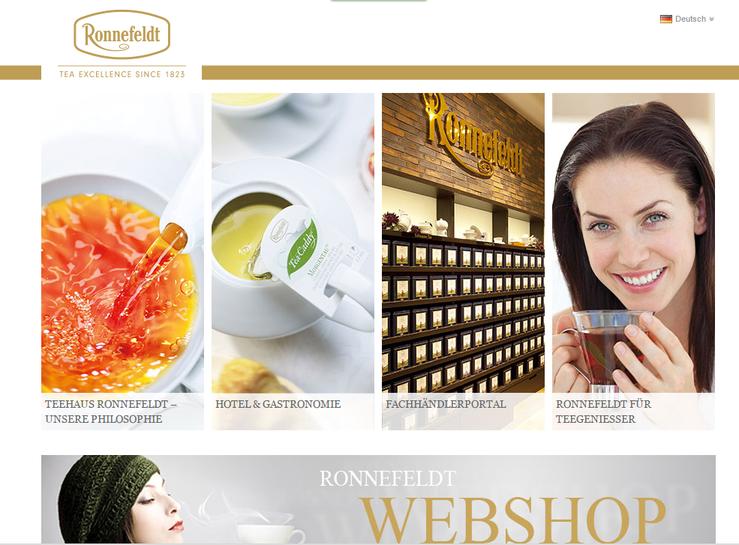 Homepage Ronnefeld