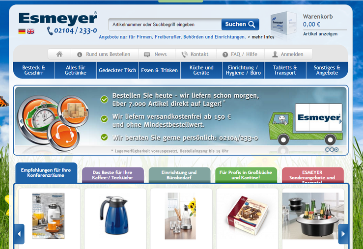 Homepage Esmeyer