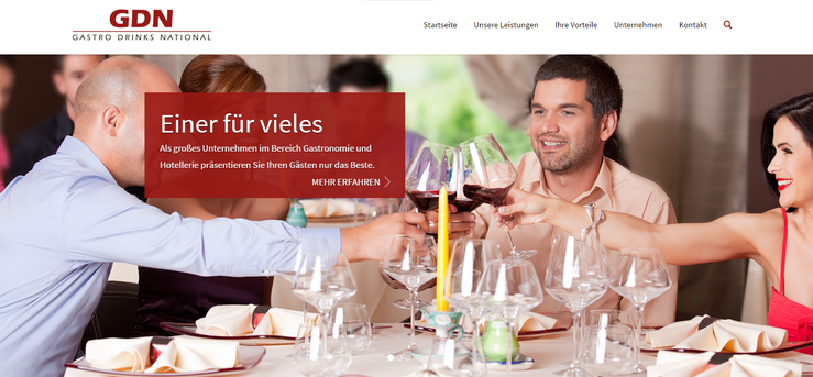 Homepage GDN