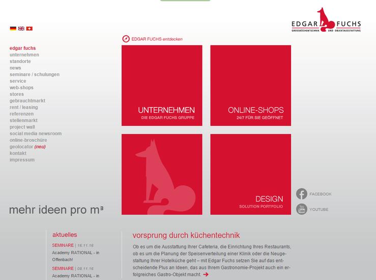 Homepage Edgar Fuchs