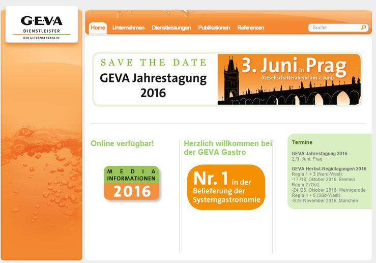 Homepage Geva