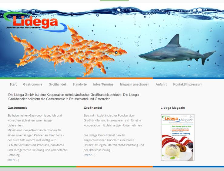 Homepage CF Gastro