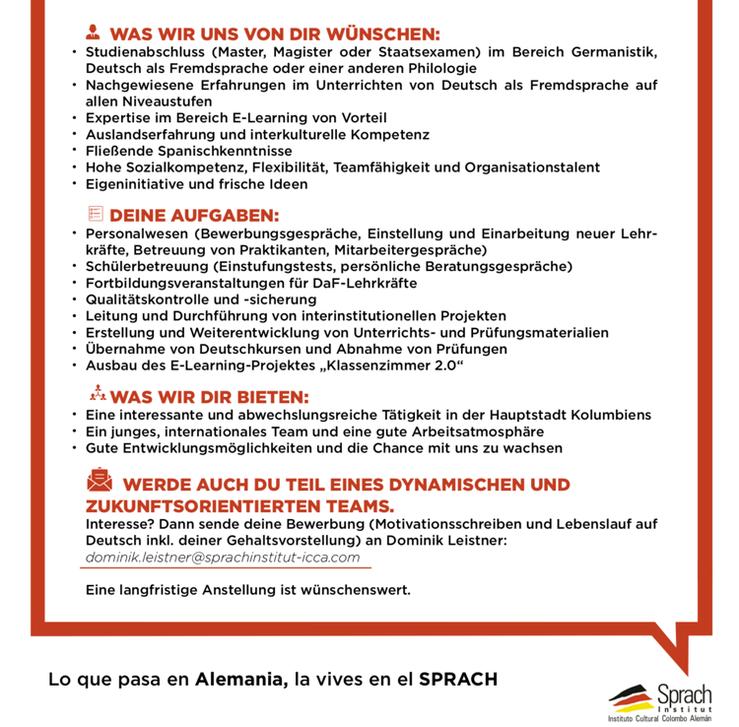 Akademische_r Leiter_in beim ICCA - FSR Fachschaftsrat DaF DaFZ ...