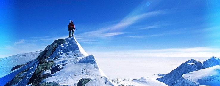 die Anden ein TRAUM aus steilem Eis und Fels