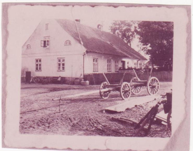 Haus Arthur Saager einst
