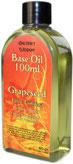 huile végétale pépins de raisin 100ml appelée huile de base