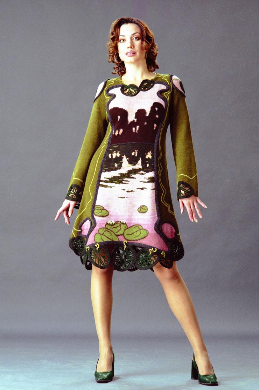 "Alexander Seraphim's knitwear, ""Coming of Twilight"", 1998"