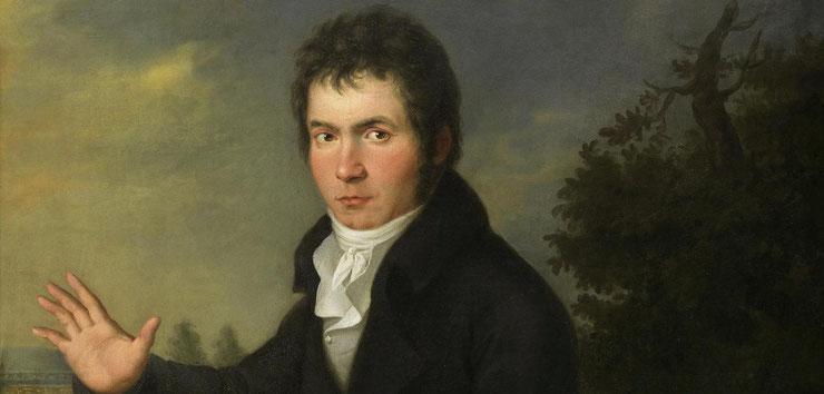 Ludwig van Beethoven war auch ein Genussmensch. (c) Wien Museum
