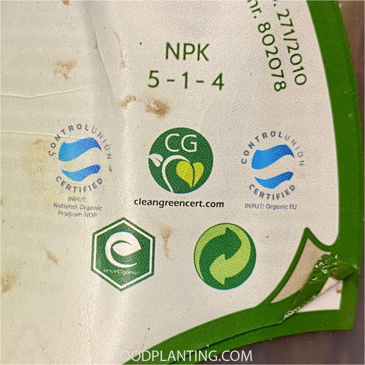 keurmerken, biologisch, clean green cert, control union certified