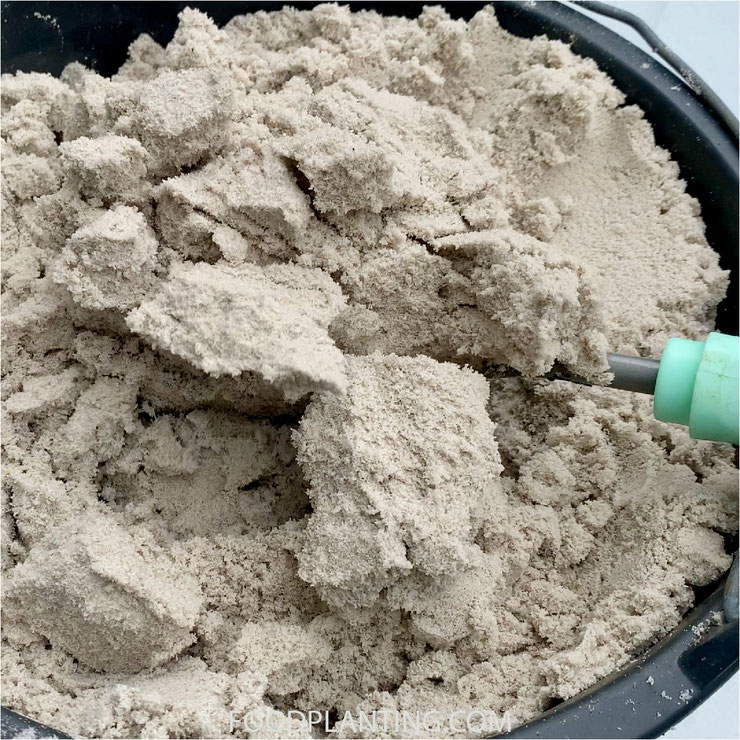 zand, moestuin potgrond