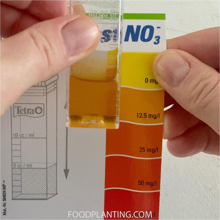 tetra nitraat test