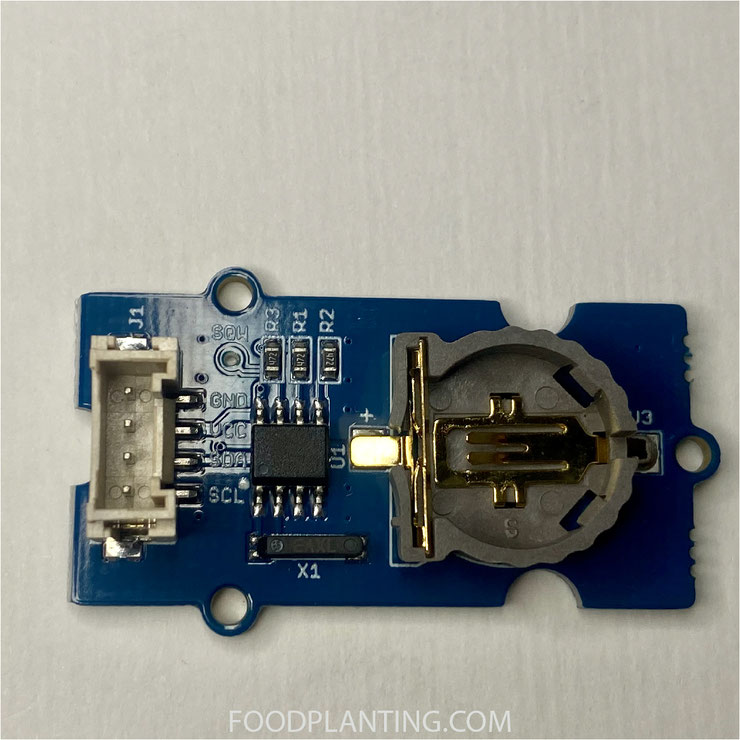grove, DS1307, real time clock