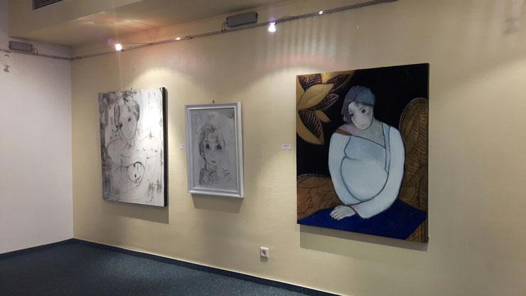 KLIO/Ausstellungsansicht /Stadthalle Linz am Rhein