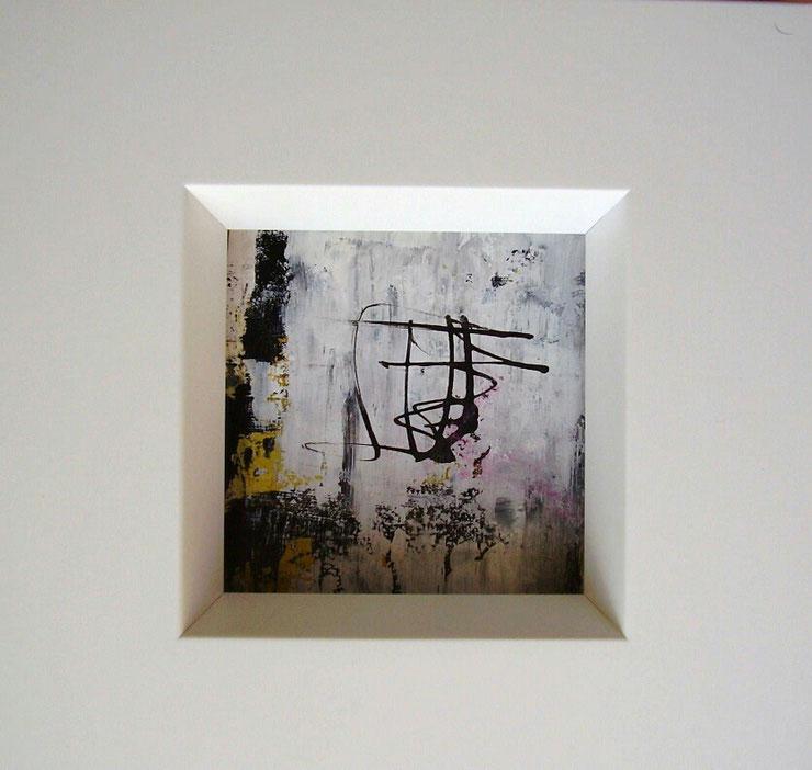 Acryl auf Leinwand Papier/ 20×20 cm