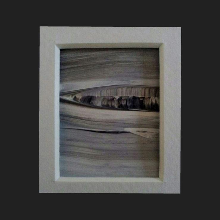 Acryl auf Papier/ 10x15 cm